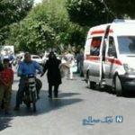 زیر گرفتن عابر پیاده با درگیری یک زوج اصفهانی + عکس