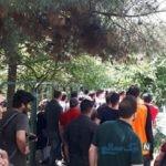 تصاویری از تجمع سرخابی ها در خیابان