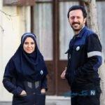 شکلک های جالب و خنده دار دو بازیگر سریال دلدار+عکس