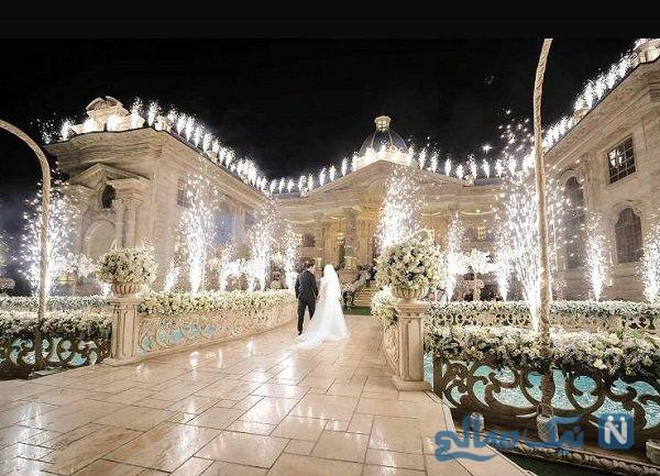 برگزاری عروسی های لاکچری با امکانات میلیاردی