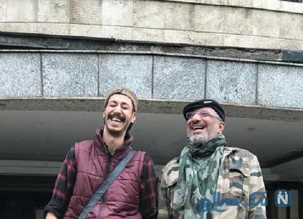 عکسی جدید از موتورسواری بهرام افشاری و امیر جعفری