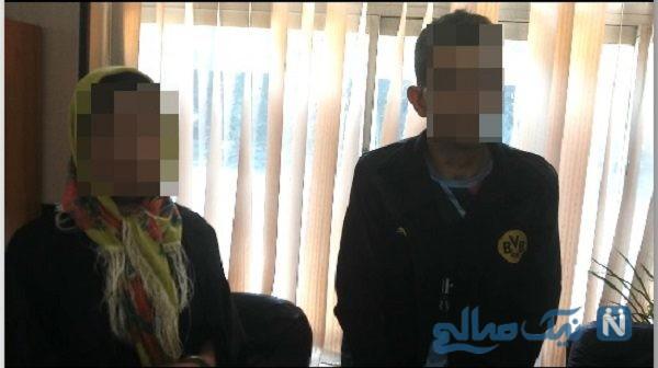 زوج سارق برای فرار از دست پلیس اتوبان را خلاف جهت رفتند+فیلم