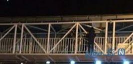 اتفاقات ناگوار برای دختر بجنوردی در پل عابر پیاده