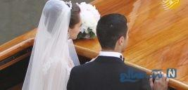 تصاویری از مراسم ازدواج هنریک مخیتاریان با دختر تاجر