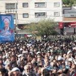مراسم تشییع امام جمعه کازرون با حضور مسئولان+تصاویر