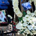 مراسم تشییع راضیه شیرمحمدی ملی پوش تیراندازی