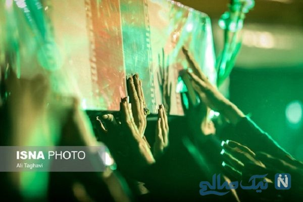 مراسم وداع با پیکرهای مطهر ۱۵۰ شهید گمنام در پایتخت
