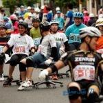 تصاویری جالب از مسابقه با صندلی چرخدار در ژاپن