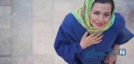 تبریک مهراوه شریفی نیا بازیگر سریال کیمیا برای تولد پدرش