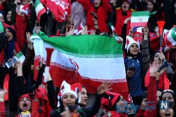 اتفاقات بد برای هواداران دختر تیم ملی ایران در آزادی+فیلم