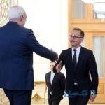 تصاویری از دیدار وزیر امور خارجه آلمان با ظریف در تهران
