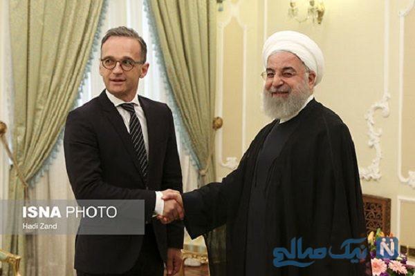دیدار وزیر خارجه آلمان با روحانی رئیس جمهور کشورمان + تصاویر