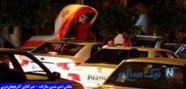 شادی مردم ارومیه بعد از برد تیم ملی والیبال ایران+تصاویر
