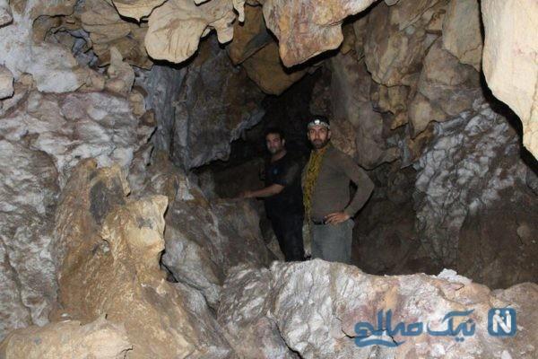 غار در کاشان