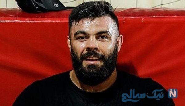 امیر علی اکبری در پشت صحنه کنسرت رضا گلزار