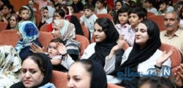 گردهمایی دوقلوها و چندقلوهای زنجانی+تصاویر