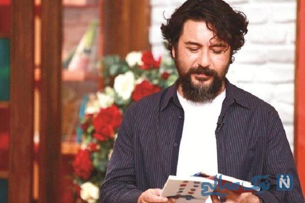 تصویری از صورت زخمی امیرحسین صدیق بازیگر ایرانی