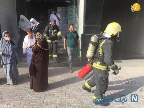 آتش سوزی در هتل مکه