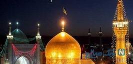 پخش تصاویری از شبکه ماهواره ای حین ارتباط زنده با مشهد