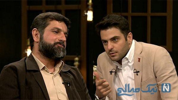 بحث جنجالی علی ضیا با استاندار خوزستان در برنامه زنده فرمول یک