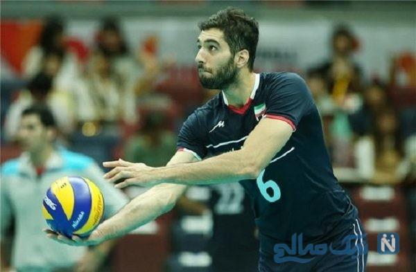 استوری سید محمد موسوی برای قهرمانی تیم ملی والیبال جوانان ایران