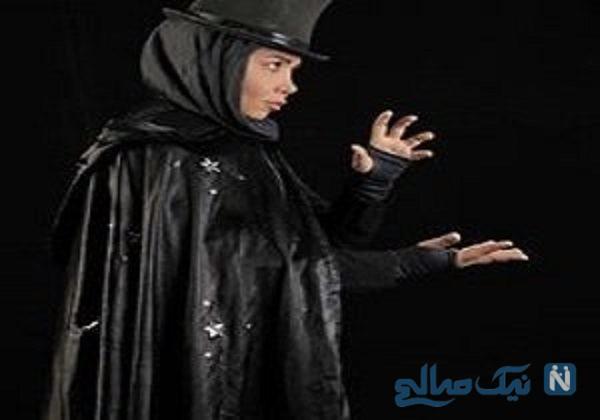 اولین بانوی شعبده باز ایران
