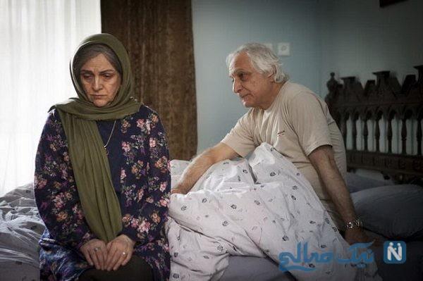 تیپ گلاب آدینه و شمس لنگرودی در اکران فیلم دوباره زندگی