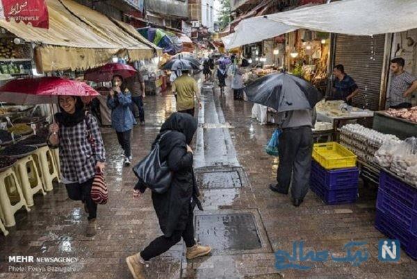 بارش باران تابستانی