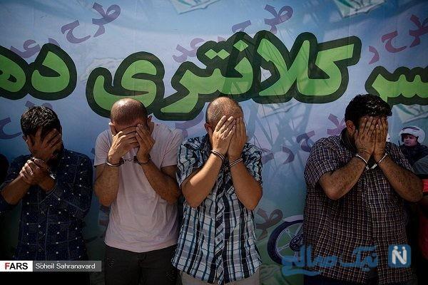 دستگیری ۶۲۱ سارق و مالخر در تهران