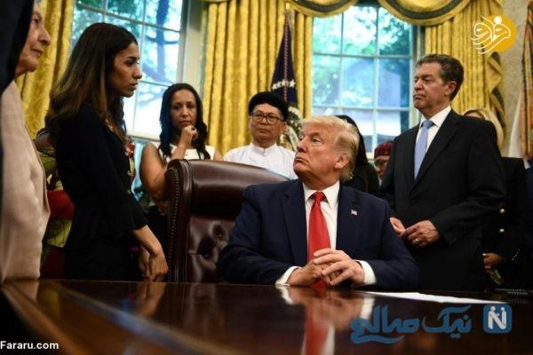 ترامپ در کاخ سفید