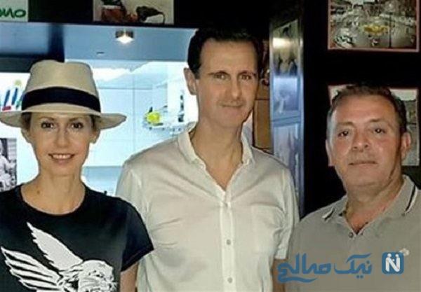 بشار اسد و خانواده