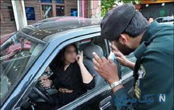 فیلمی عجیب از بی حجابی در داخل خودرو پراید