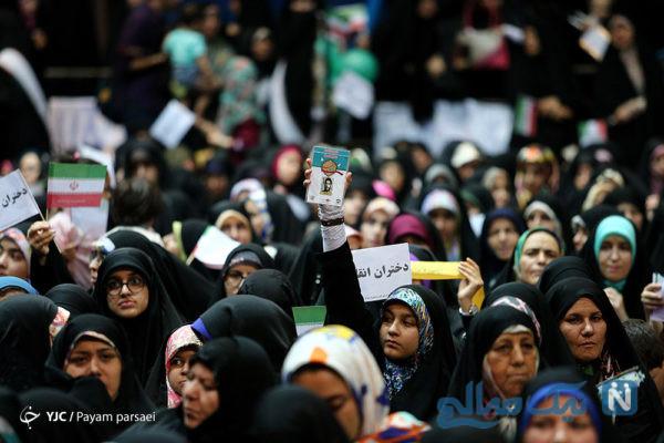 تجمع دختران انقلاب