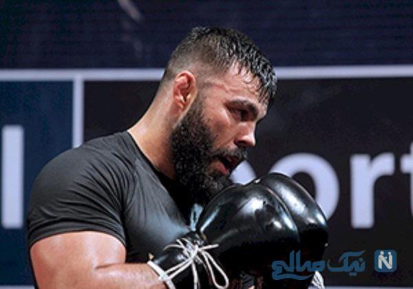 تمرینات سخت امیر علی اکبری
