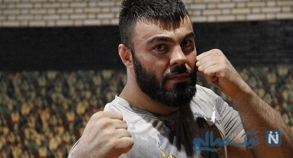 تمرینات سخت امیر علی اکبری برای رقابت در دشوارترین میدان مبارزات ترکیبی