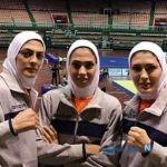تمرین های سخت خواهران منصوریان در اصفهان برای مسابقات جهانی