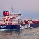 تصاویری جدید از توقیف نفتکش انگلیسی توسط ایران در تنگه هرمز