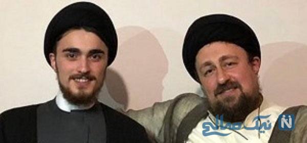 تولد سید حسن خمینی و پیام جالب و اینستایی پسر به پدر