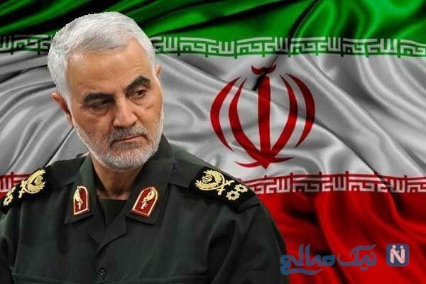 پست جدید سردار سلیمانی خطاب به دولت آمریکا