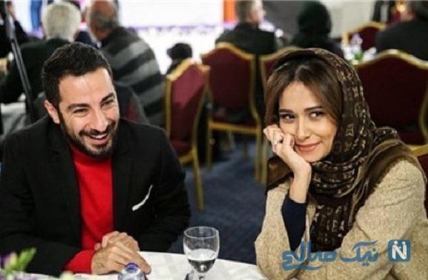 تیپ جدید پریناز ایزدیار و نوید محمدزاده در یک مراسم