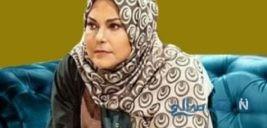 تیپ مهرانه مهین ترابی در مراسم بزرگداشت فردوس کاویانی