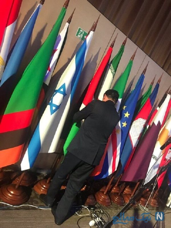 پرچم ایران و اسرائیل