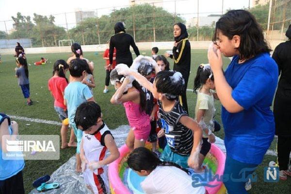 تصاویری جالب از جشنواره آب بازی در بندرعباس