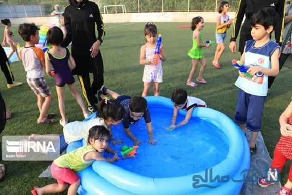 جشنواره آب بازی