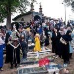 تصاویری جالب و دیدنی از جشن مردگان در مازندران