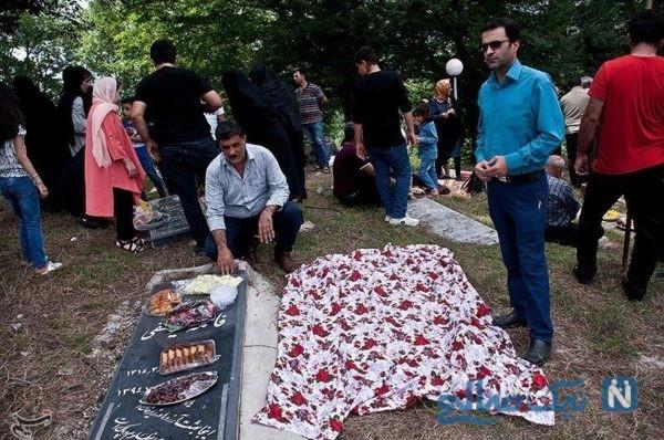 جشن مردگان در مازندران