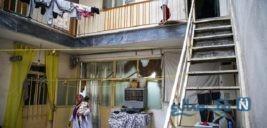 خانه ای پر از آرامش برای زنان کارتن خواب