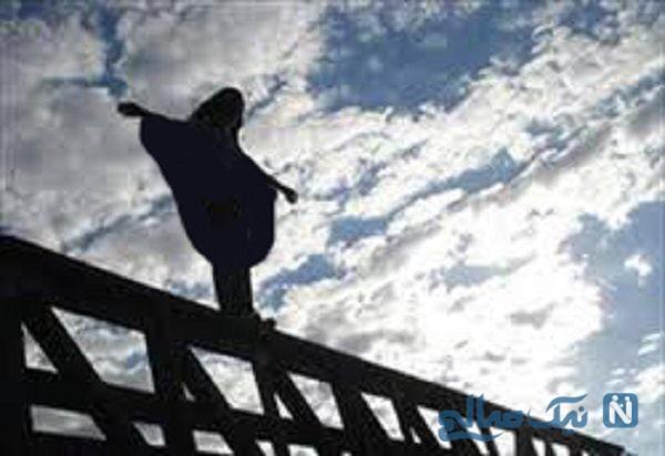 انصراف یک دختر ۲۵ ساله از خودکشی در بزرگراه امام علی