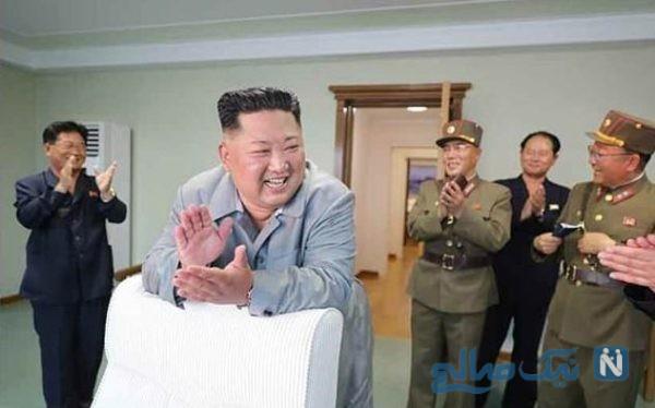 خوشحالی عجیب رهبر کره شمالی