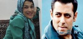 پیام سلمان خان به دختر معلول نقاش ایرانی در اینستاگرام
